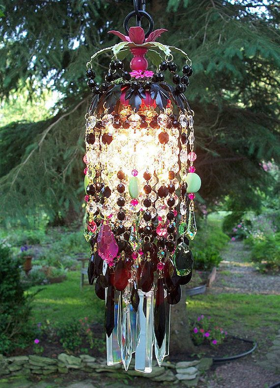 Bohemian Gypsy Crystal Petite Chandelier