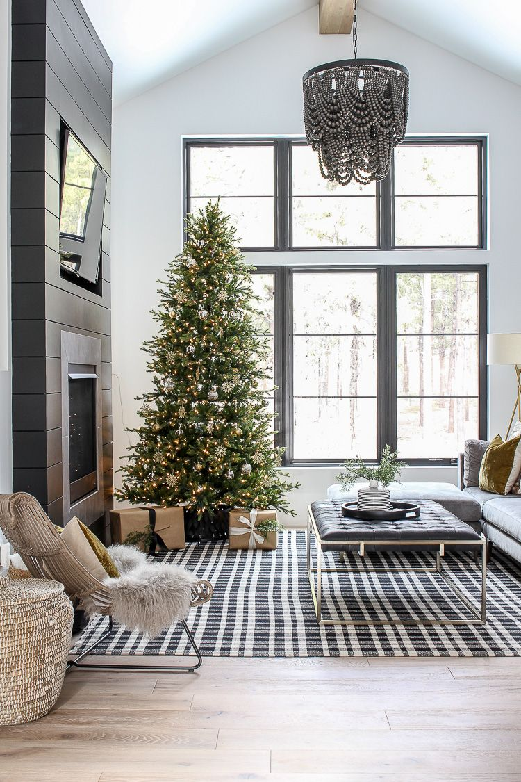 The Forest Modern Grand Finale Christmas Home Tour 2018