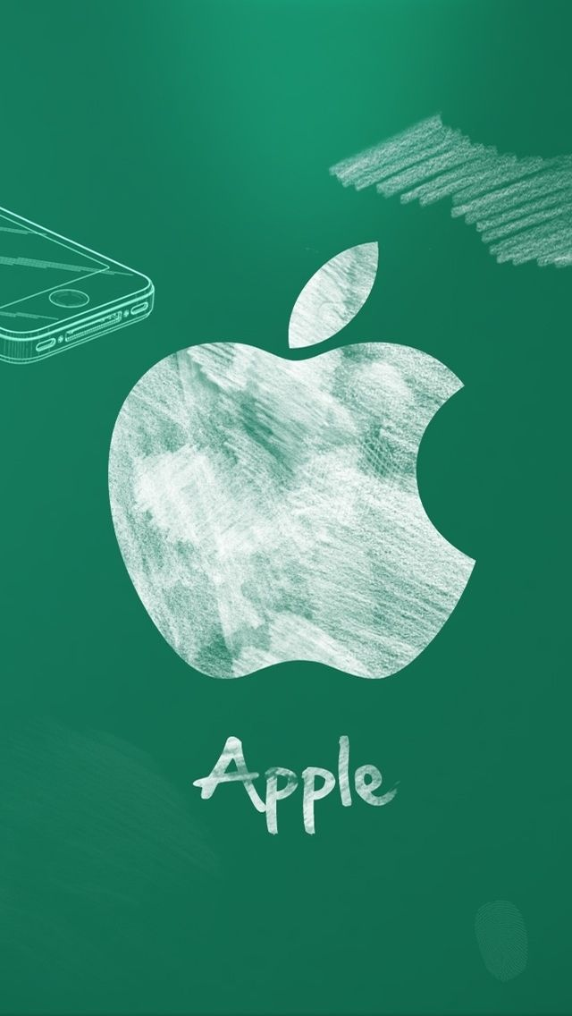 The Iphone 5 Wallpaper I Just Pinned Apple Logo Wallpaper