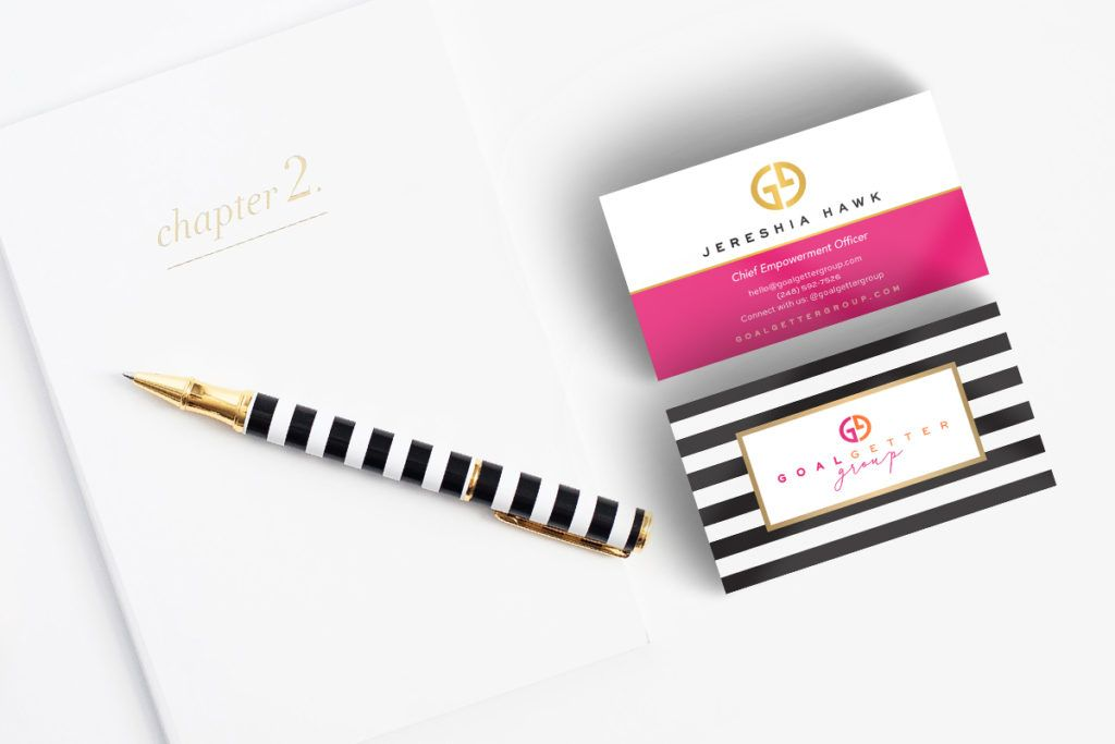 Bold, Feminine Business Card Design by Sweet Southern Pixels ...