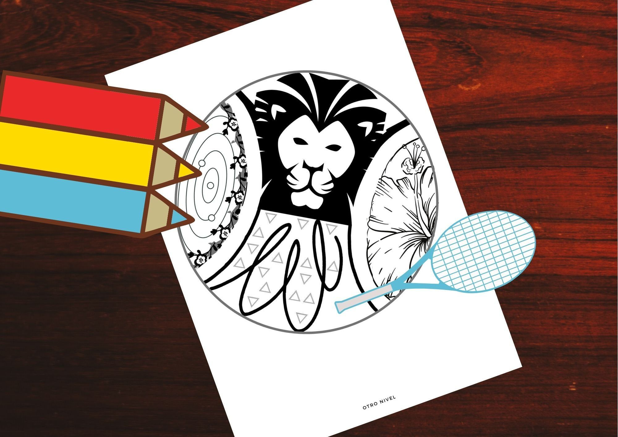 2x Sport Tennis And Padel Coloring Pages In 2020 Padel Tennis Prints