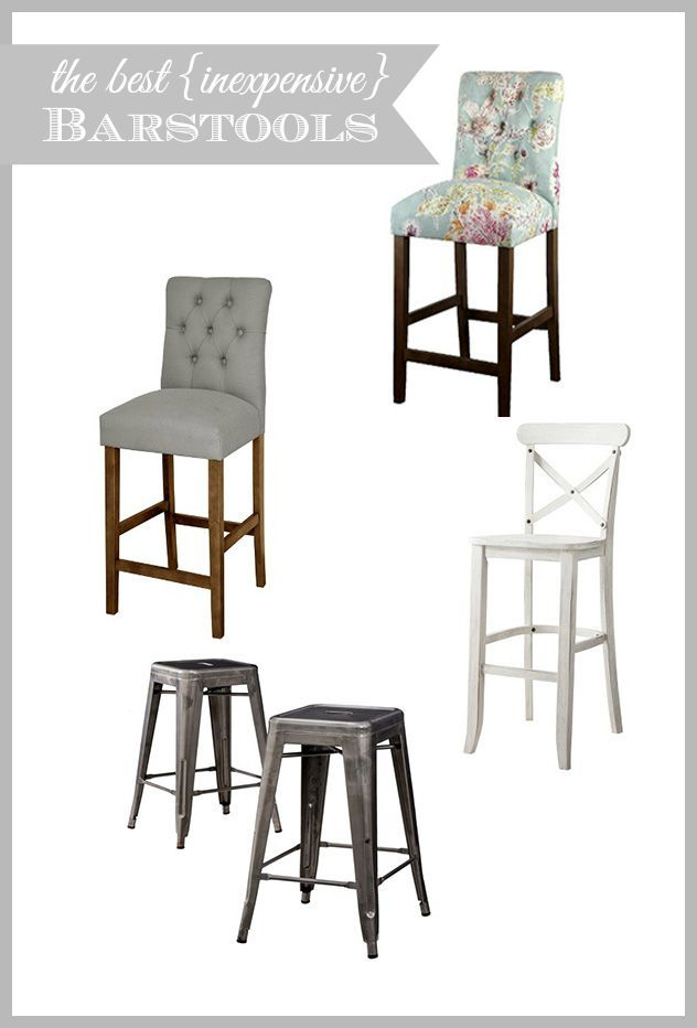 Kitchen Update And Inexpensive Bar Counter Stool Round Up