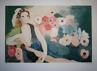 Aquarelles De Marie Laurencin Aquarelle Oeuvre D Art Et Peinture