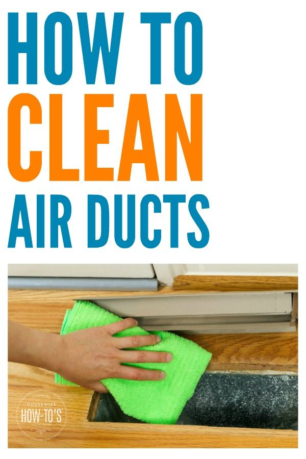 How To Clean Your Own Air Ducts I Never Thought About Much Dirt Falls Down Floor Registers And Gets Stuck In Our Then Looked One Yuck