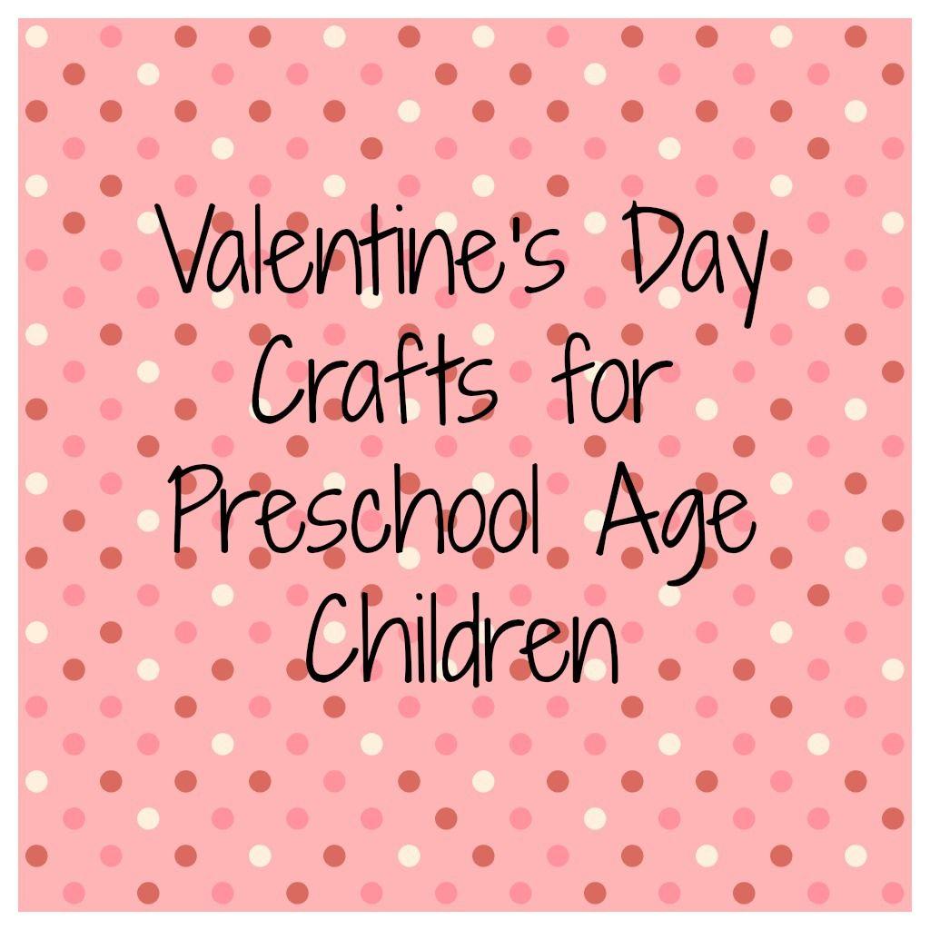 Valentine S Day Preschool Crafts