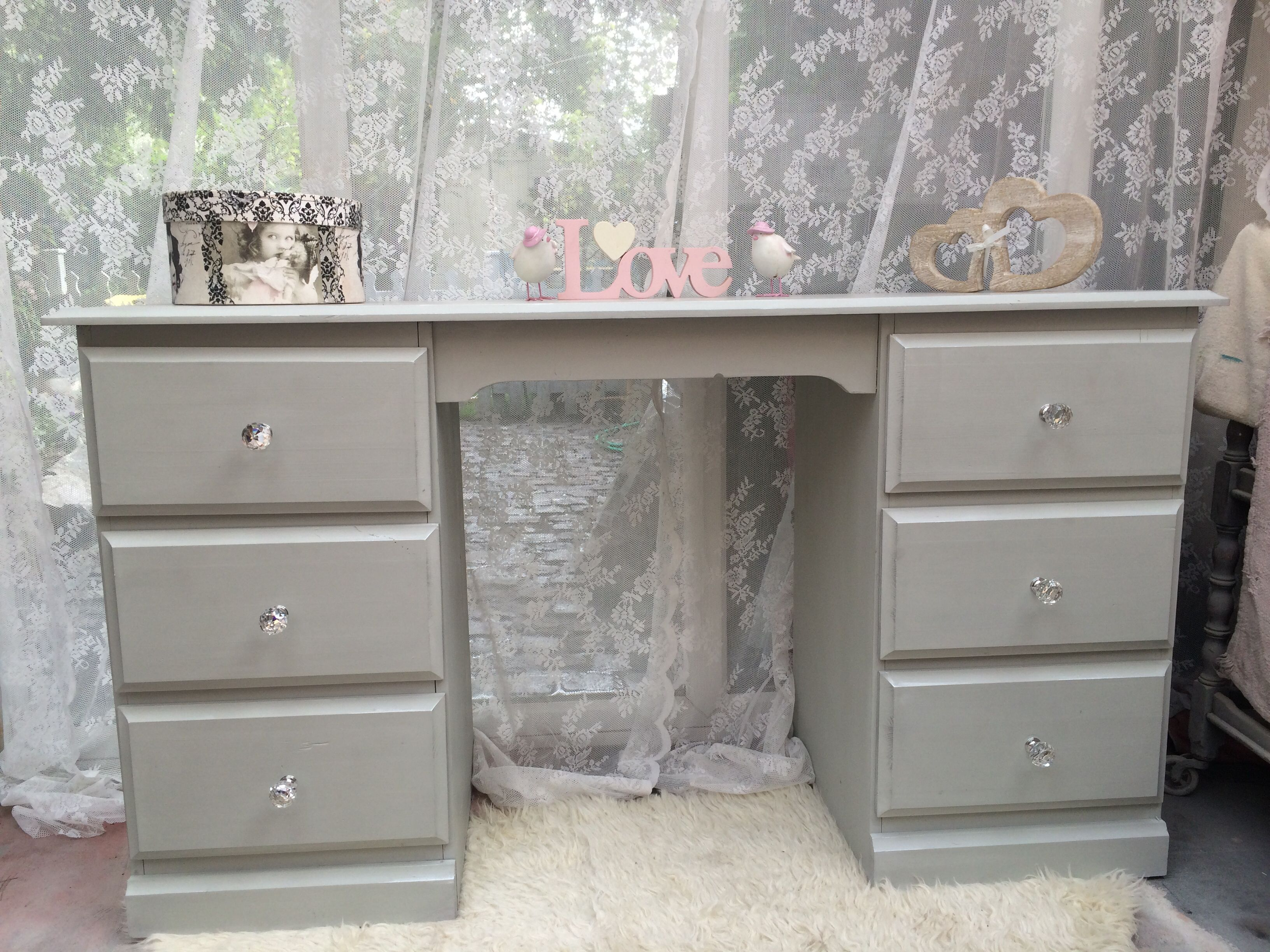 Pine Painted Dressing Table