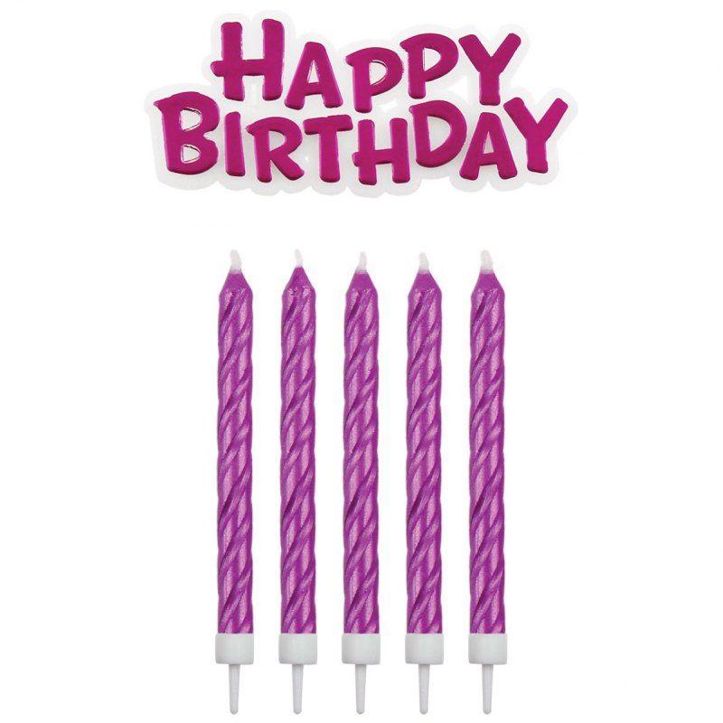 Dieses Tolle Happy Birthday Set Von Pme Enthalt Sechzehn Pinke
