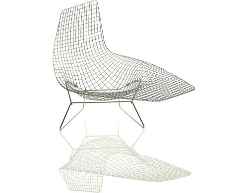 Bertoia Asymmetric Chaise Lounge Modern Furniture Modern
