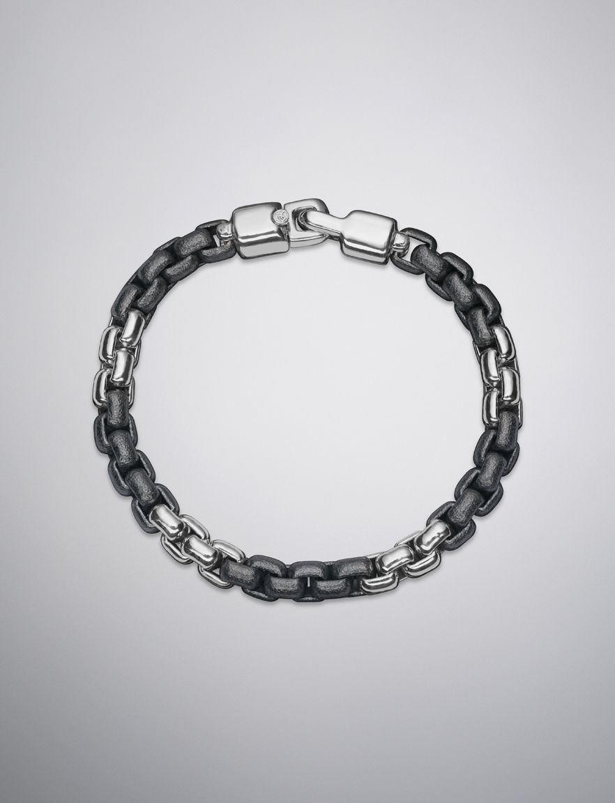 David Yurman Mens Rally Chain Bracelet at London Jewelers