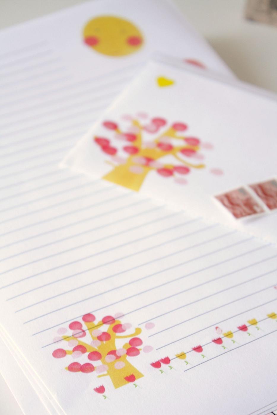 Freebie Paper and Envelope