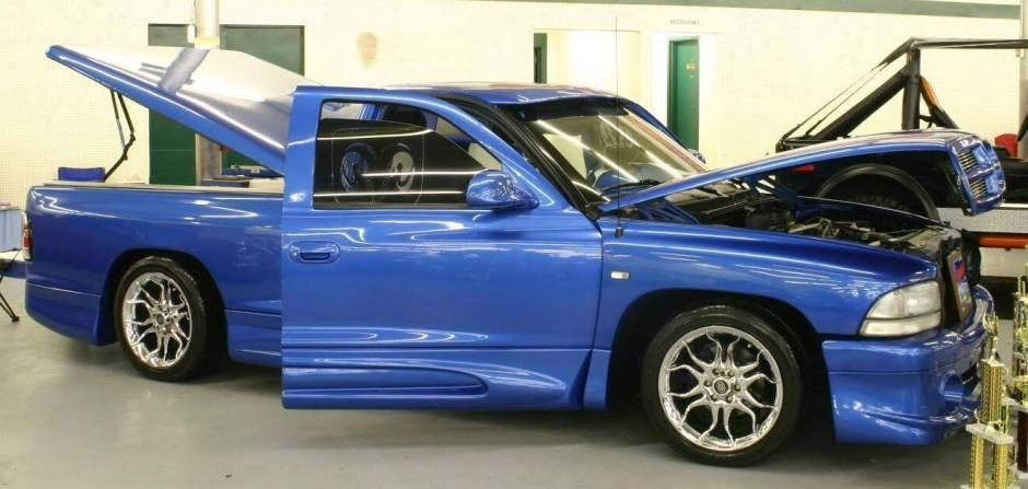Custom 1998 Dodge Dakota Lowrider Truck With Images Dodge