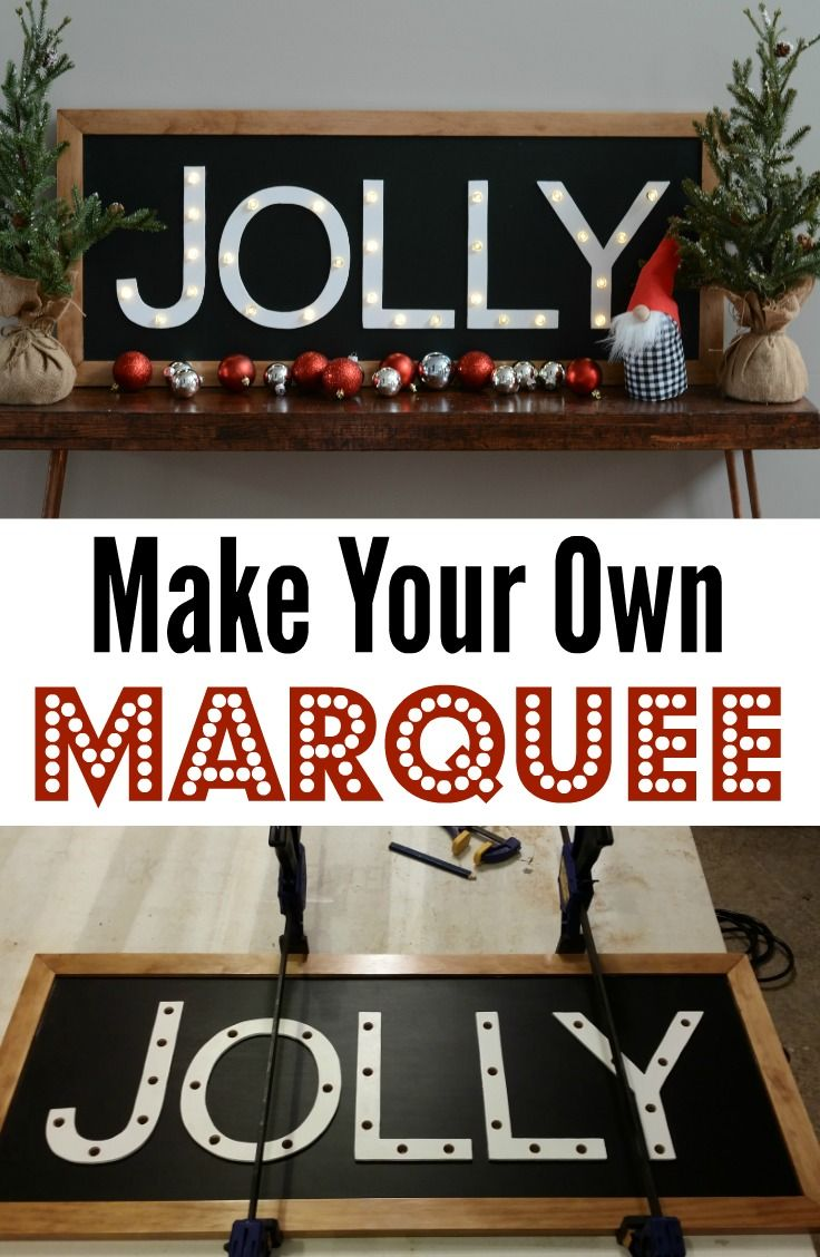 Learn How To Make Your Own Lighted Marquee With These Great Tips