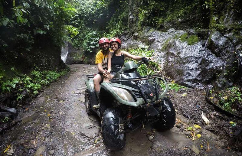 Tandem Atv Adventure Bali Special Quad Bike Riding Experience