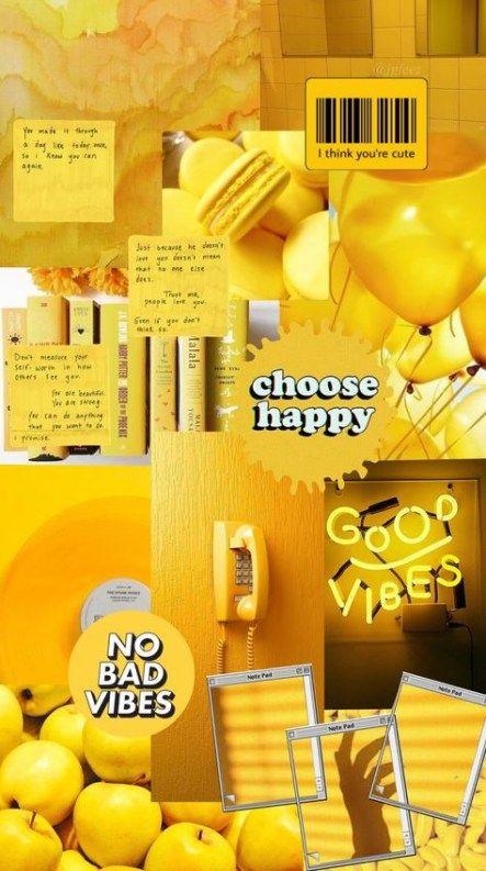37+ Super Ideas Light Yellow Aesthetic Wallpaper Iphone