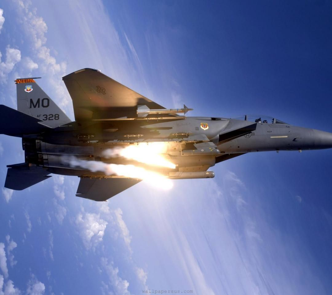 Fighter F 15 Military Desktop