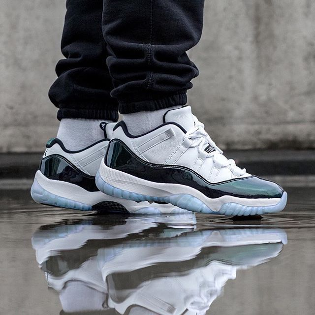 bdb30c41a9a KicksOnFire's Official Tumblr — Air Jordan 11 Low Iridescent - Now  available on.