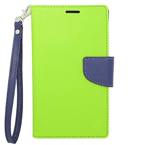 Hj Power[tm] Blu Studio 5.0 Hd Lte / Studio 5.0 C Hd Ct2 Leather Pu Wallet Pouch Cover + [free Hj Power Stylus http://www.smartphonebug.com/accessories/top-15-best-blu-studio-5-0-hd-lte-cases-and-covers/