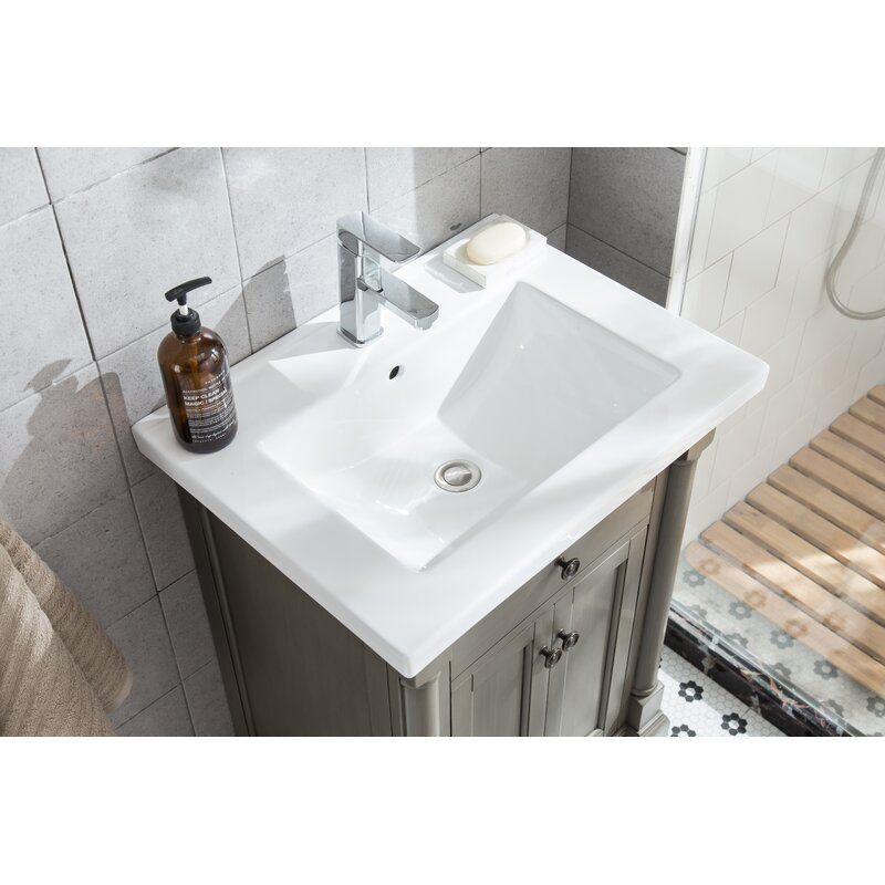 Greyleigh Seadrift 24 Single Bathroom Vanity Set Reviews Wayfair In 2020 Single Bathroom Vanity Vanity Set Bathroom Vanity