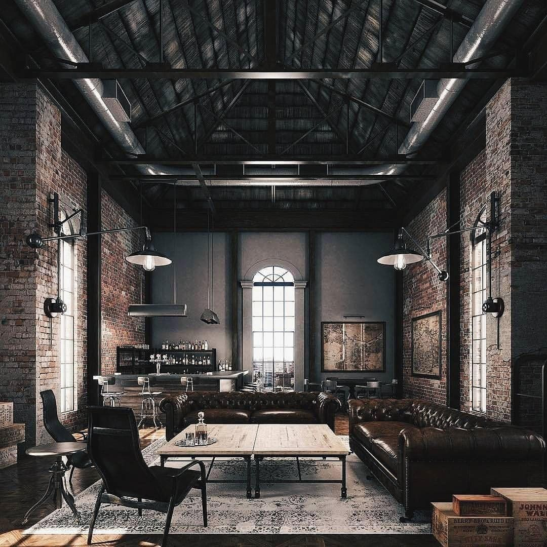 Loft Design Inspiration Ig Shahindesign Contact For Architectural Designing Services Of Your Home In 2020 Zolder Design Bachelor Pad Decor Ontwerpers