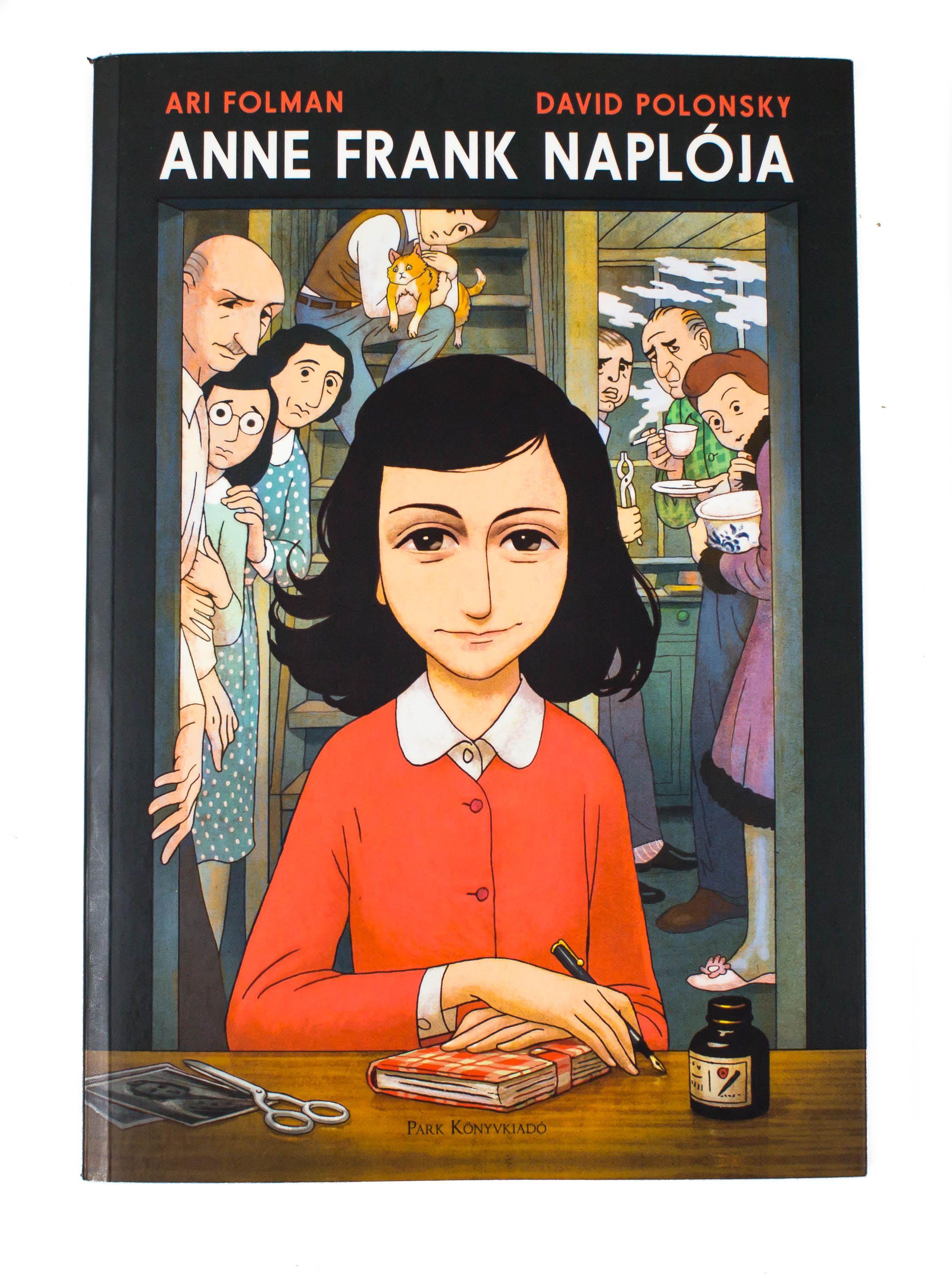 Ari Folman David Polonsky Anne Frank Naploja