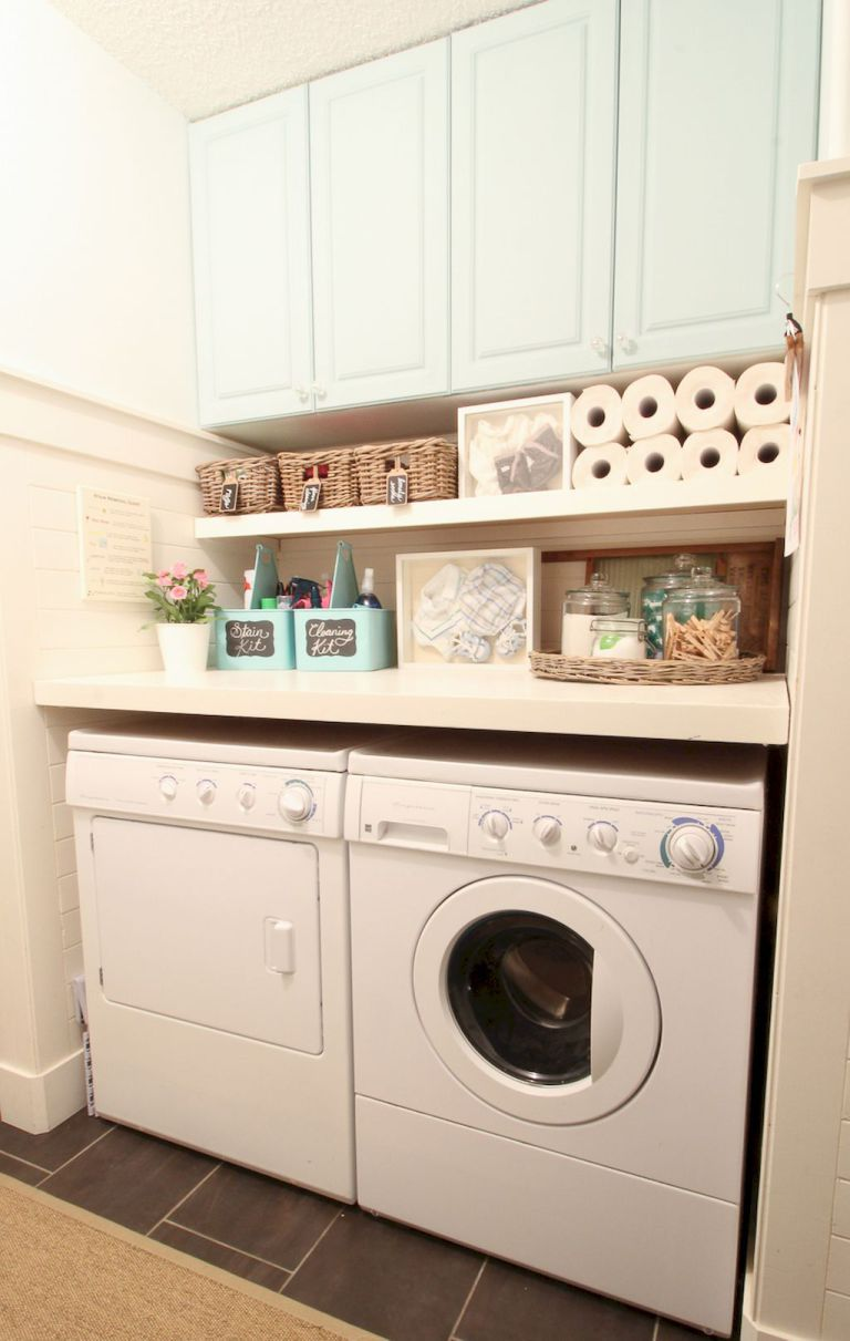 Cool small laundry room design ideas 6
