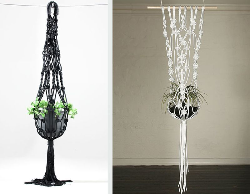 20 DIY Macrame Plant Hanger Patterns   http://www.designrulz.com