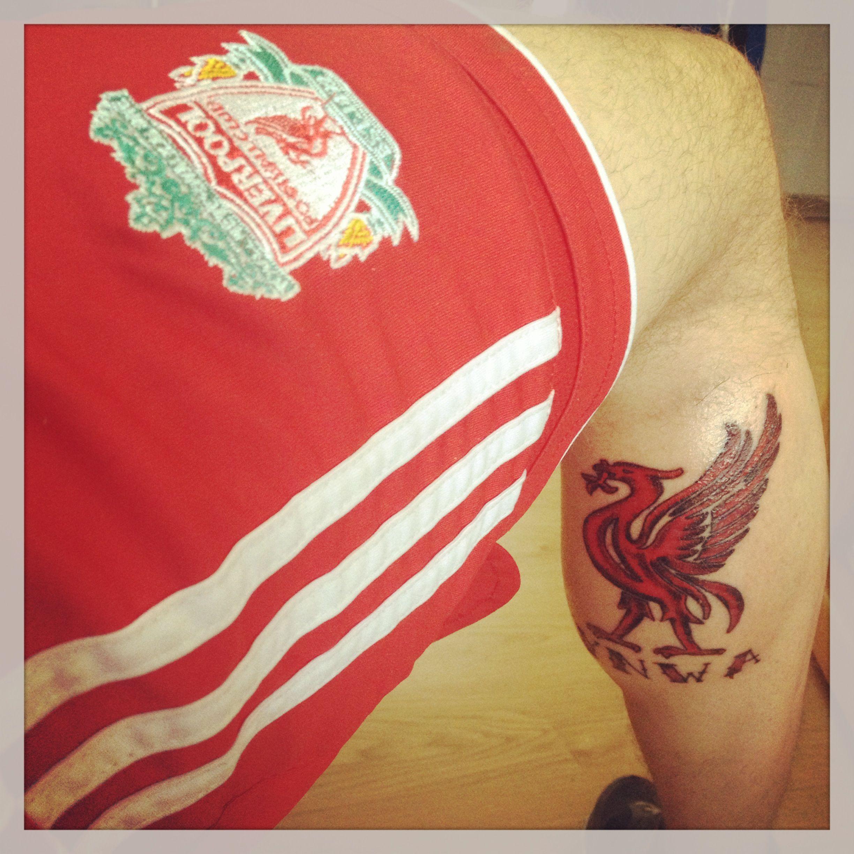 YNWA. You'll Never Walk Alone. Liverpool liverbird tattoo