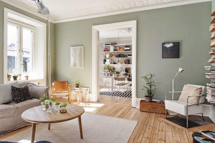 couleur mur salon couleur peinture salon