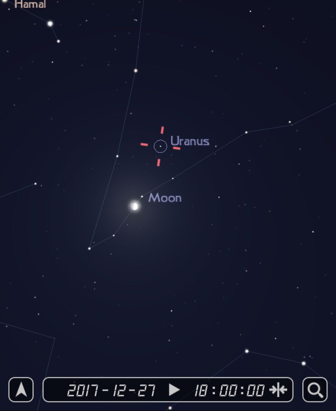 Tonight S Southern Skies Over Chicago Will Showcase The Moon Next To Planet Uranus The Lunar Glare Will Make It Very Hard To See Ve Astronomy Uranus Chicago