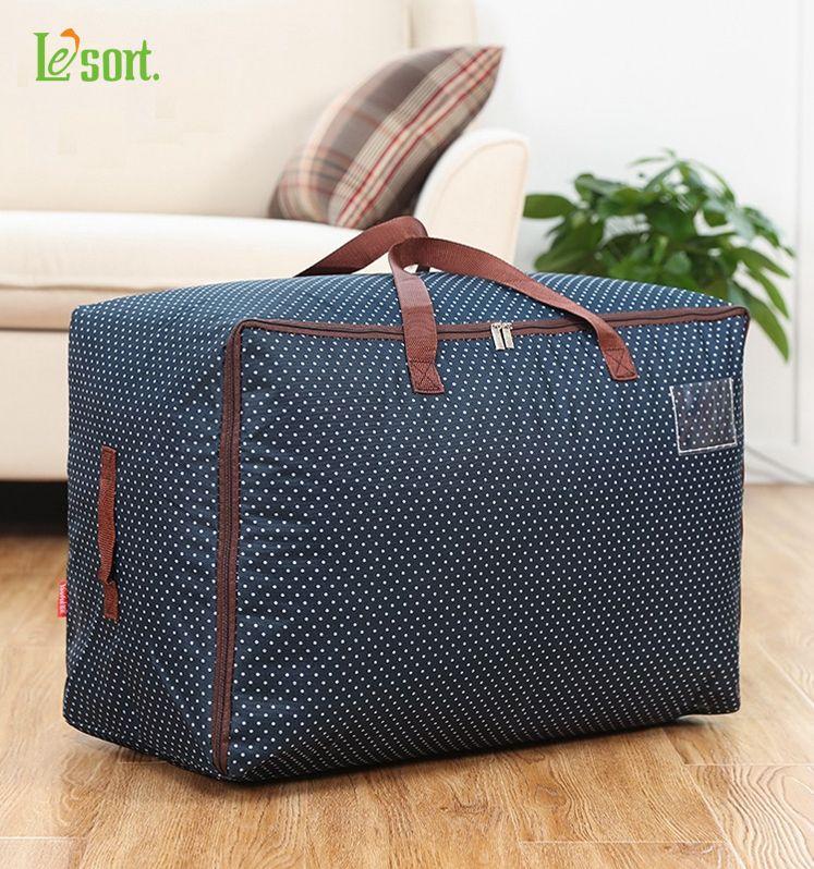 Thickening oxford fabric quilt storage bag Large quilt bags ... : quilt storage bags - Adamdwight.com