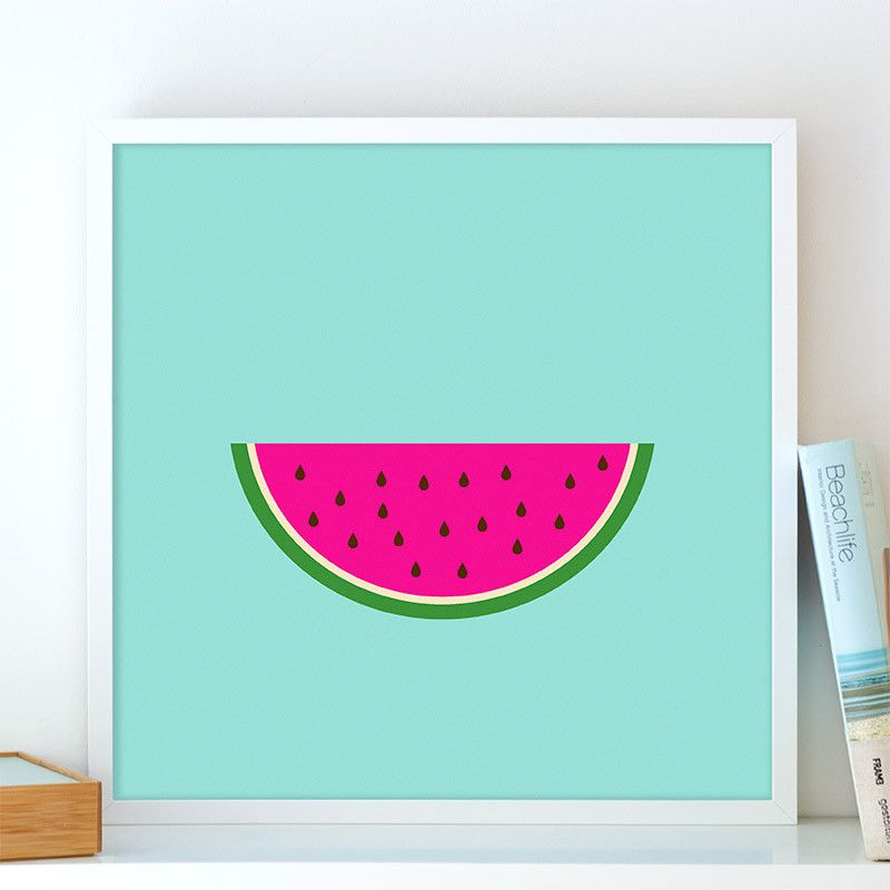 Watermelon poster | Cool posters | Pinterest | Products, Water and ...