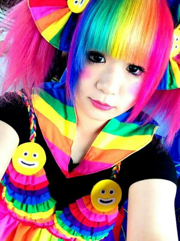 Rainbow Hair Colors In 2018 Pinterest Hair Rainbow Hair And