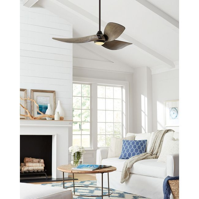 Melody Indoor/Outdoor Ceiling Fan with Light Fireplace Pinterest