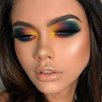 Best eye makeup creative art 46 Ideas