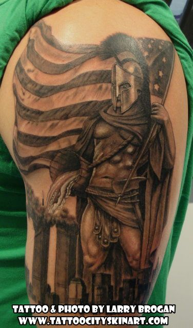 27c89eecb7c7f Pin by Tattoo City on Larry Brogan Tattoos | Tattoos, Fire tattoo, Cool  tattoos