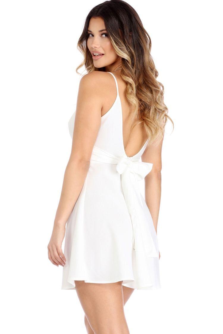 4135718f2f Ivory First Love Skater Dress