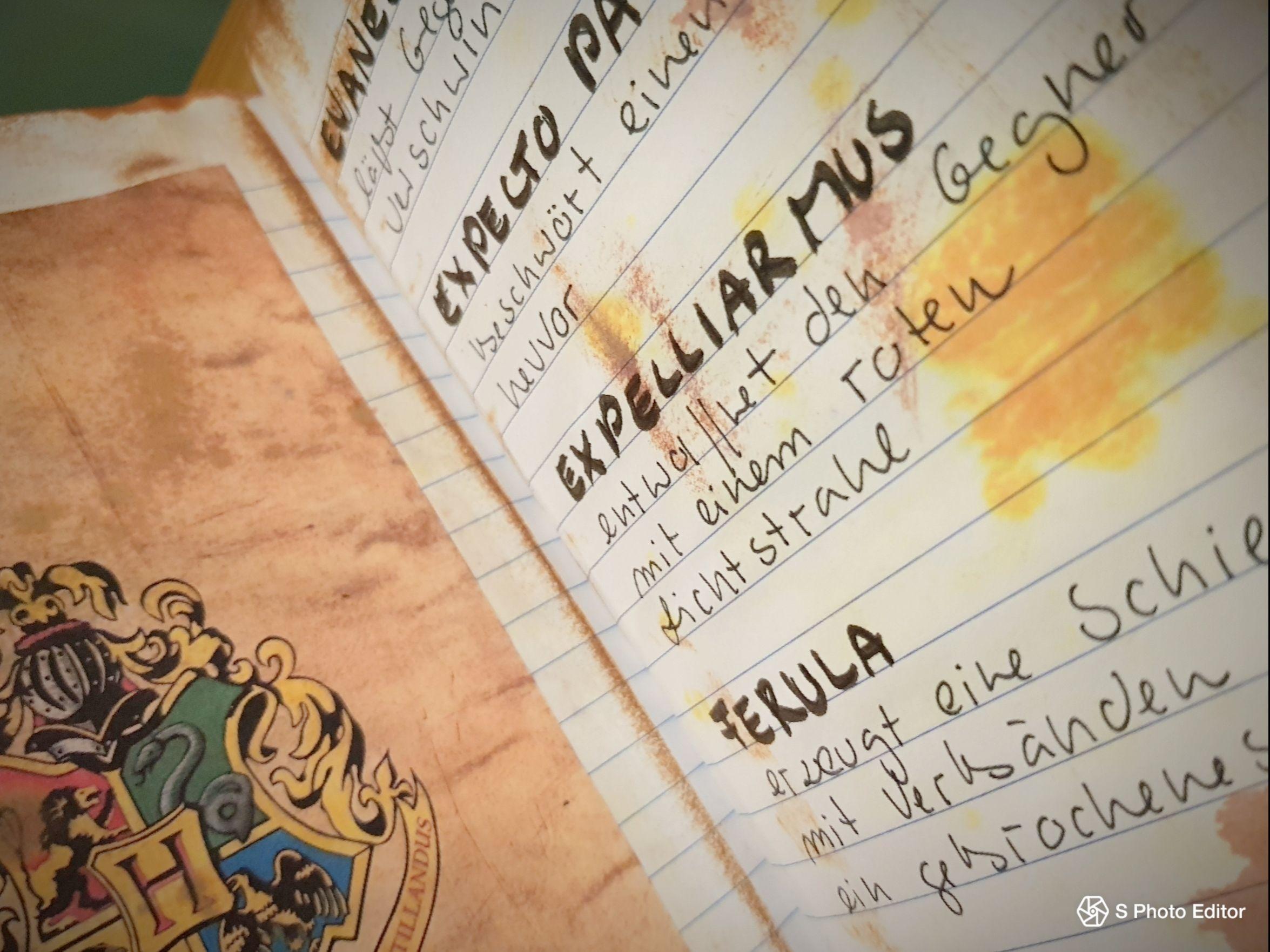Expelliarmus Zauberspruche Hogwarts Lernen