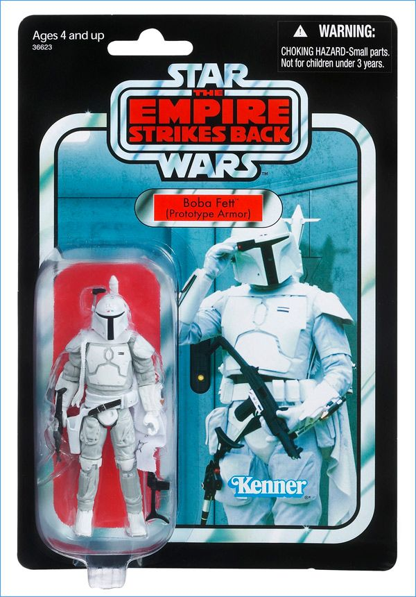 Star Wars Vintage Collection Boba Fett Prototype Armor Mail Away Exclusive Figure Kenner VC61