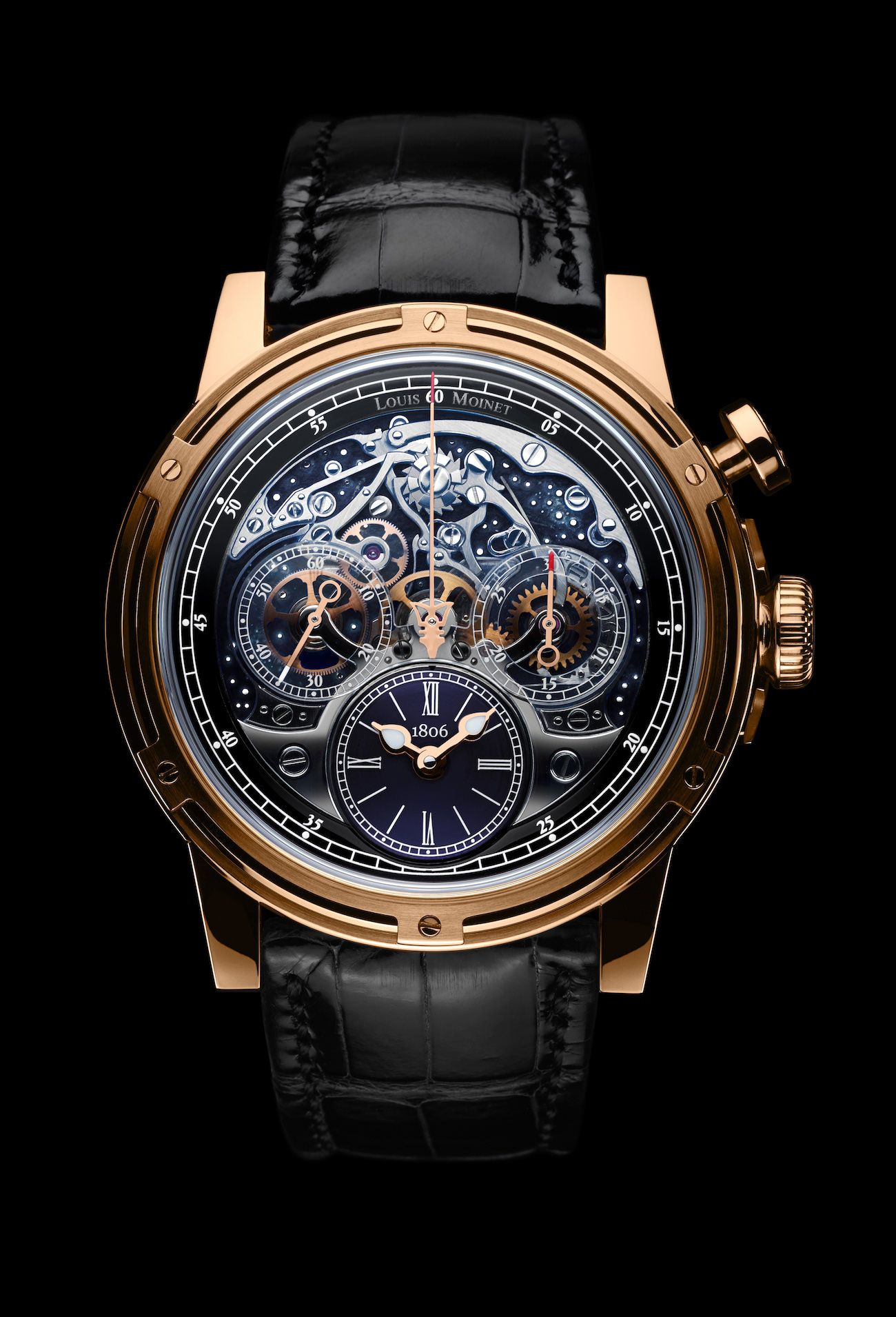 ce5158160de Louis Moinet touches the stars to celebrate the 200th anniversary of the  chronograph with Memoris