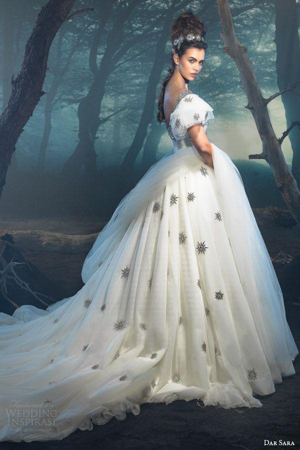 dar sara wedding dresses 2014 — vienna bridal collection | vestidos