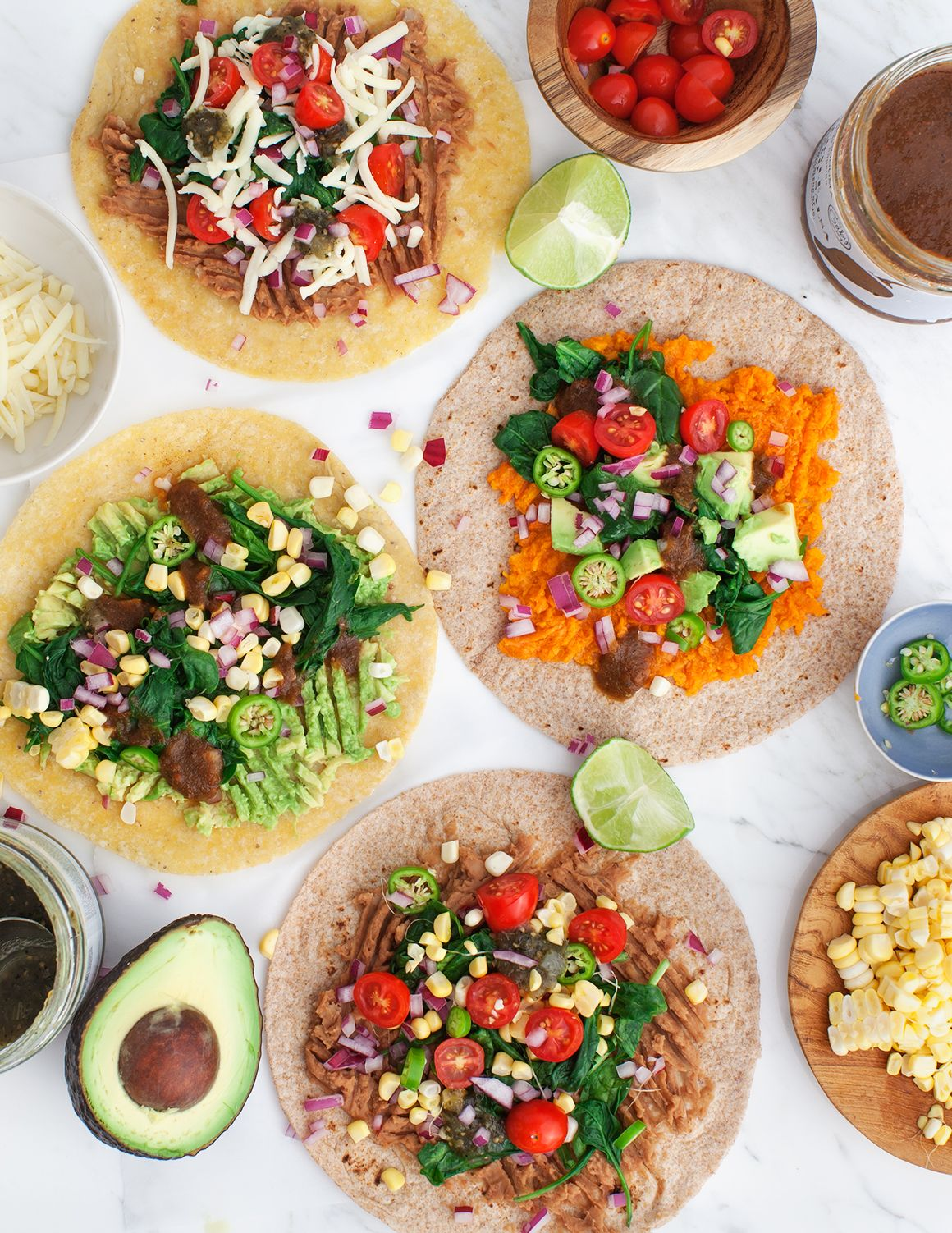 how to make healthy quesadillas