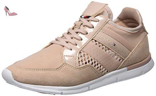 Tommy Hilfiger de Sm S1285kye 2c, Sneakers Basses Femme