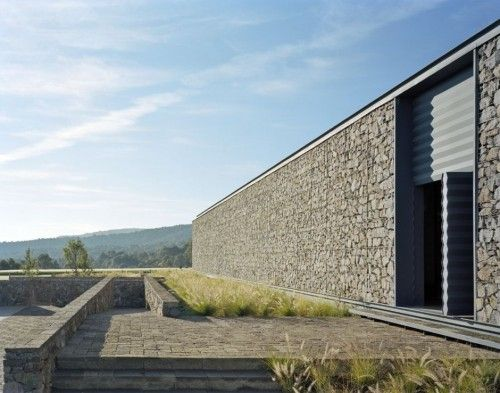 modern architecture club house by parque humano architects in morelia mexico stone architecture - Modern Architecture Mexico
