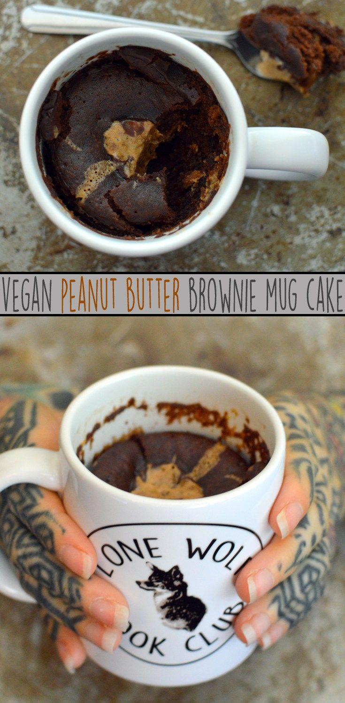 4 vegan mug cake recipes eggless dairy free egg free