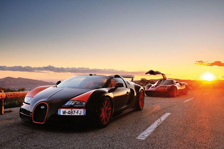 bugatti veyron vs pagani huayra | cool cars | pinterest