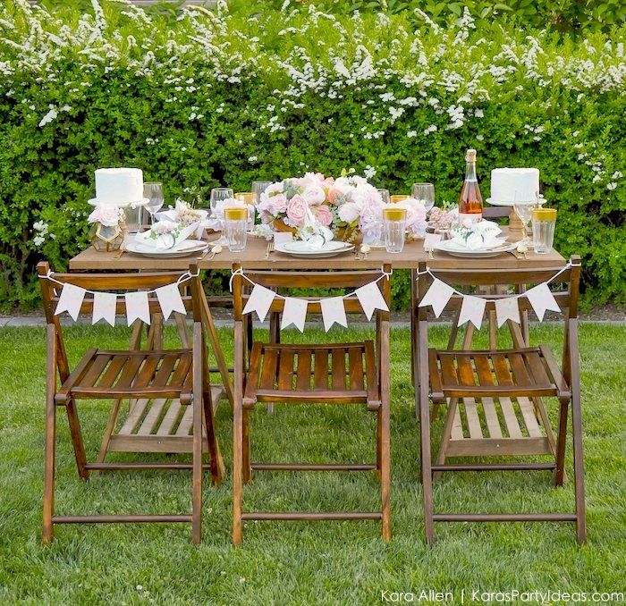 Garden Party Tablescape + Free Printables! | Birthdays and Birthday ...