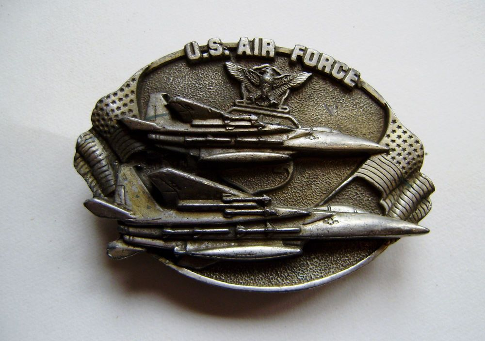 Vietnam War Air force belt buckle 1960-70 J-132