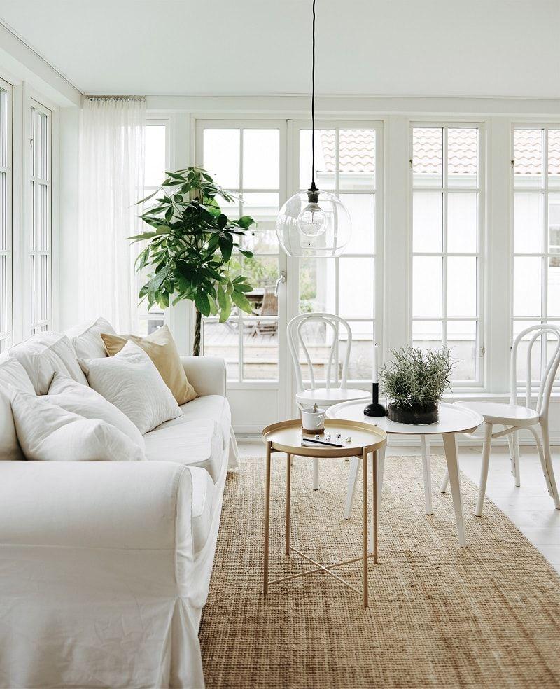 Scandinavian Style Family Home Decorated With Ikea Interior Design Design Visual Minimalist Decor Minimalist Living Room Minimalist Home Interior