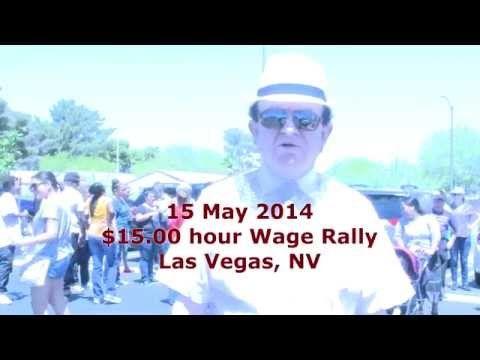 Ny Minimum Wage Strike Pictures Mcdonalds Las Vegas Nv Fast