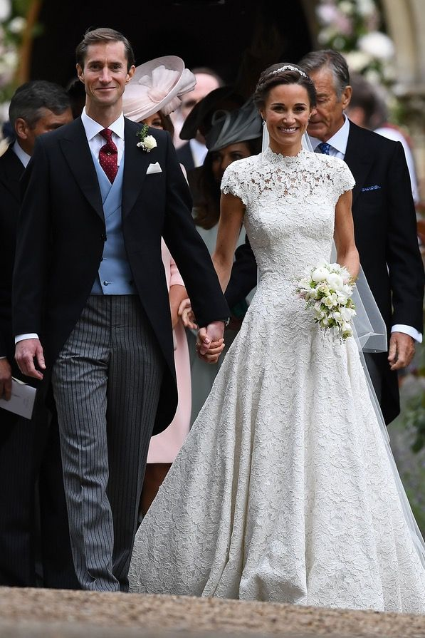 Giles Deacon Designed Pippa Middleton's Wedding Dress